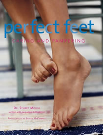 perfect feet caring and pampering - book cover